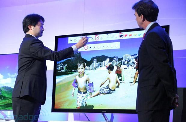 Panasonic shows off Touch Pen for annotating images on Smart TVs