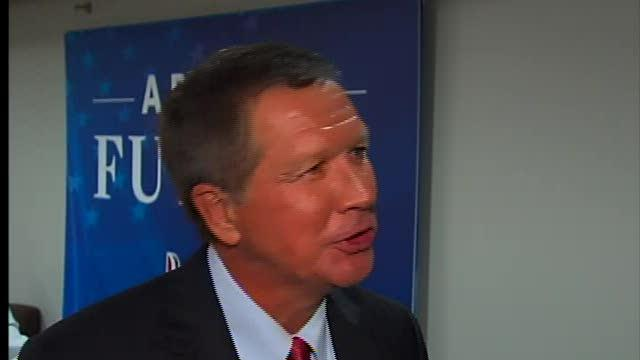 Kasich interview following convention speech