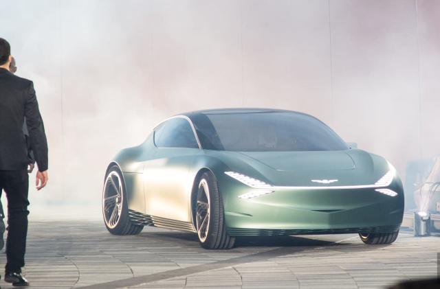 Genesis unveils Mint concept EV for urban fashionistas