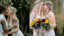 First ever lesbian bridal magazine is here at last