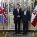 Britain's top diplomat in Iran as US oil sanctions back on