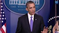 "Obama: will sign bill ""immediately"" to reopen government, lift debt ceiling once House passes the legislation"