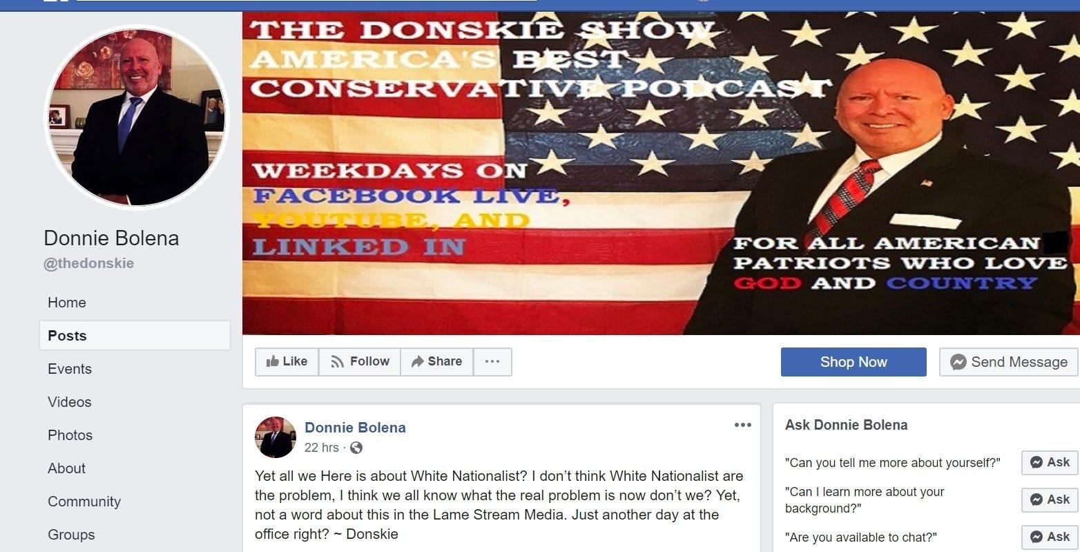 GOP candidate drops out of congressional race after calling himself a 'white nationalist'