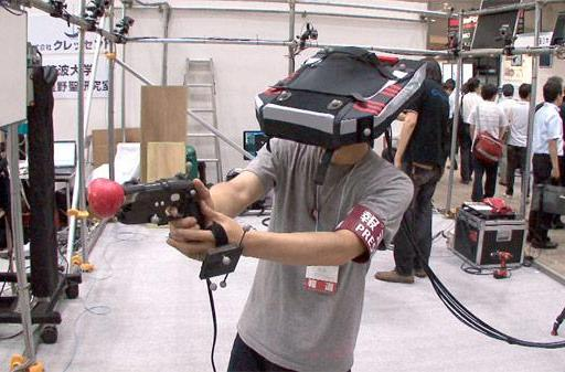 Crescent's Immersive Digital Entertainment VR: it's like a Virtual Boy that you wear
