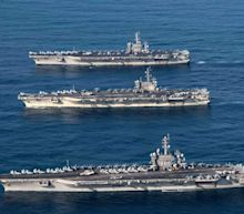 Iran Has A Lot Of Missiles And The U.S. Navy's Carriers Look Like Juicy Targets