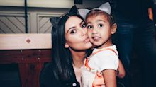 Kim Kardashian Says North West Is Kind of a Mean Older Sister