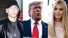 Eminem was visited by Secret Service agents over lyrics about POTUS, Ivanka Trump