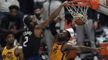 Clippers, Kawhi Leonard take second straight blowout win to tie series with Jazz