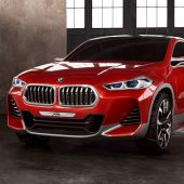 BMW Unveils Concept X2 Crossover SUV and Other Models at Paris Motor Show