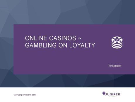 Online casino financing