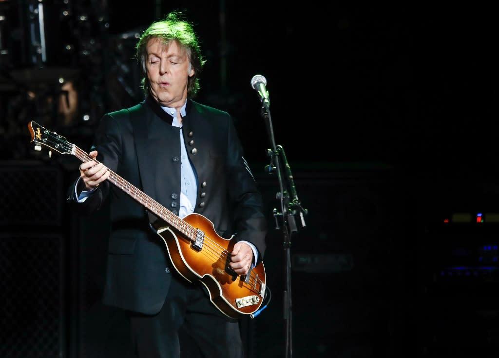 Music legend Paul McCartney has lobbied politicians urging them to back the reform (AFP Photo/Kamil Krzaczynski)