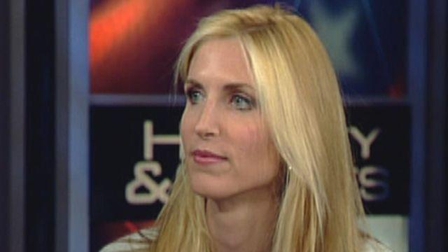 Coulter stirs immigration battle with 'lazy Latinos' talk