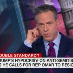 Jake Tapper Points Out The Absurd Hypocrisy Of Trump Lambasting Ilhan Omar