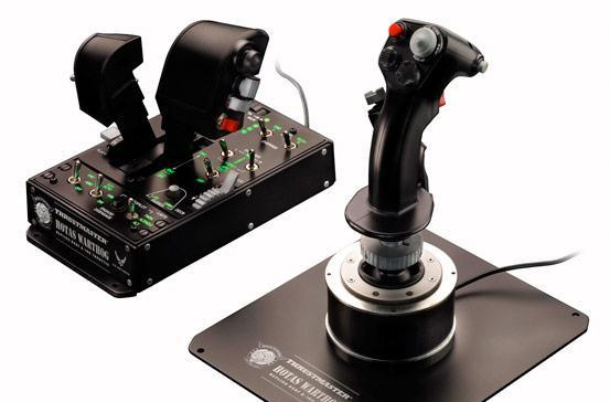Thrustmaster shipping HOTAS Warthog flight controller this month for $500
