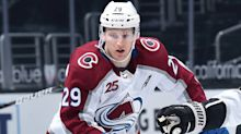 Nathan MacKinnon On Track To Return For Colorado Avalanche For Game 1 Against St. Louis Blues