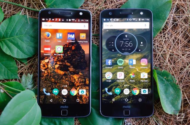 The Moto Z series could get Google's world-sensing Tango tech