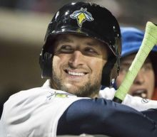 Tim Tebow is starting to tear it up in the minors