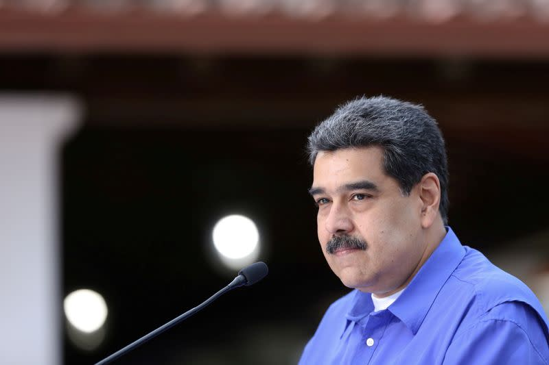Venezuela's Maduro says election delay to meet EU request 'impossible'