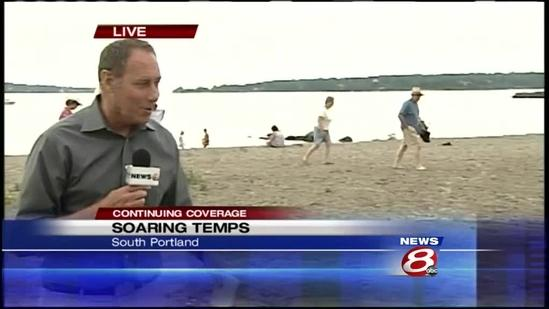 Soaring temps not stopping Mainers from enjoying summer