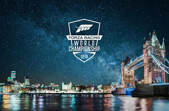 Watch the 'Forza' esports championship starting at 1PM Eastern