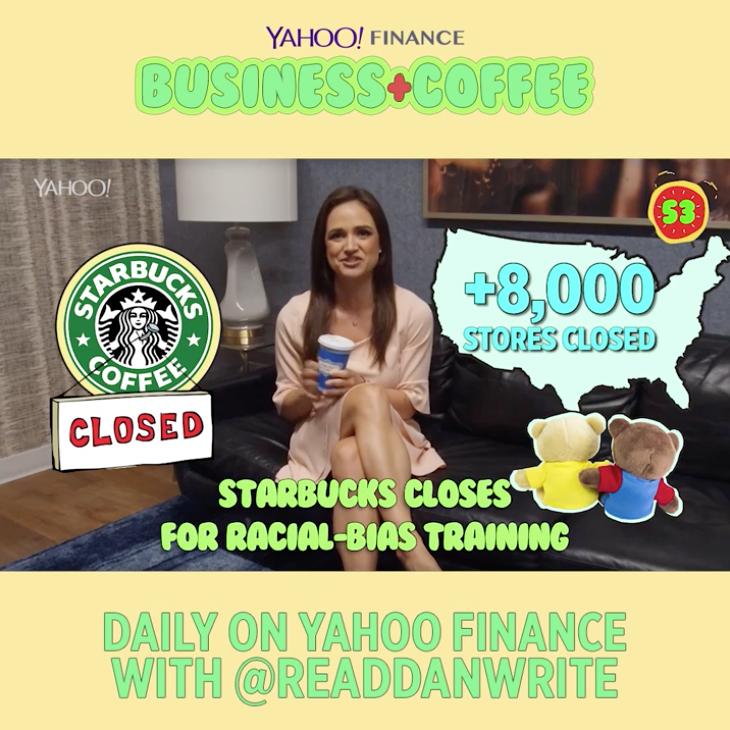 Business + Coffee: Starbucks Racial-bias Training, New
