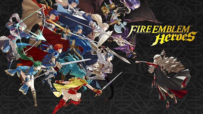 Nintendo's 'Fire Emblem Heroes' mobile game arrives next month (update)