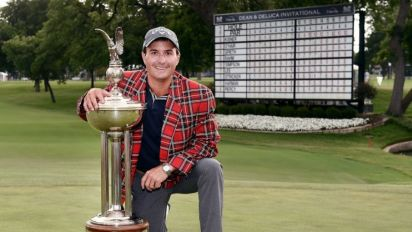 Kisner doesn't settle for second at Colonial
