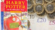 Ex-library Harry Potter book predicted to sell for £30,000 at auction