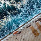 Man banned for life after jumping from cruise ship balcony