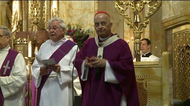 Cardinal George`s mass at alleged gay conversion conference under fire