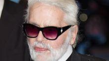 PHOTOS Karl Lagerfeld sans lunettes de soleil et avec quelques kilos en plus : il est méconnaissable !