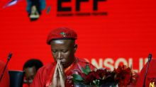 Malema re-elected as head of SAfrican radical left