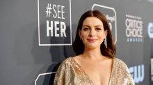 Anne Hathaway is a late entrant to the lockdown pillow challenge, but it was worth the wait