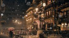 日本22歲攝影師作品 飄雪銀山溫泉超靚