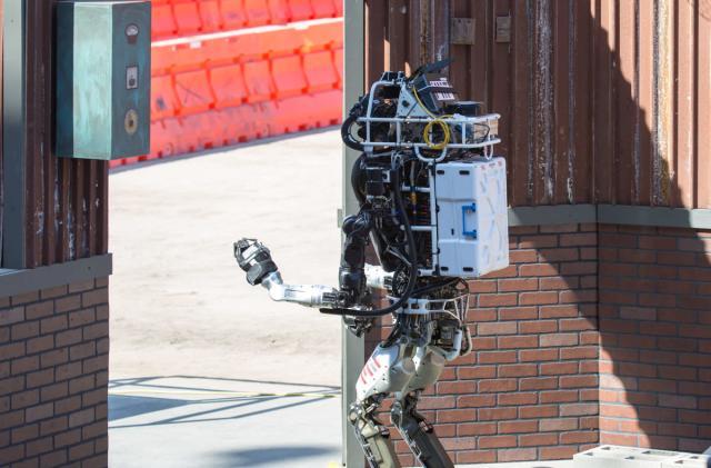 The machines that rose to DARPA's robotics challenge