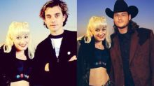 Gwen Stefani Photoshops 'boo' Blake Shelton into a classic throwback of her and ex-husband Gavin Rossdale