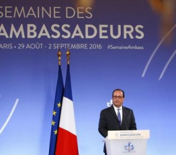France's Hollande says Paris climate agreement far from implemented