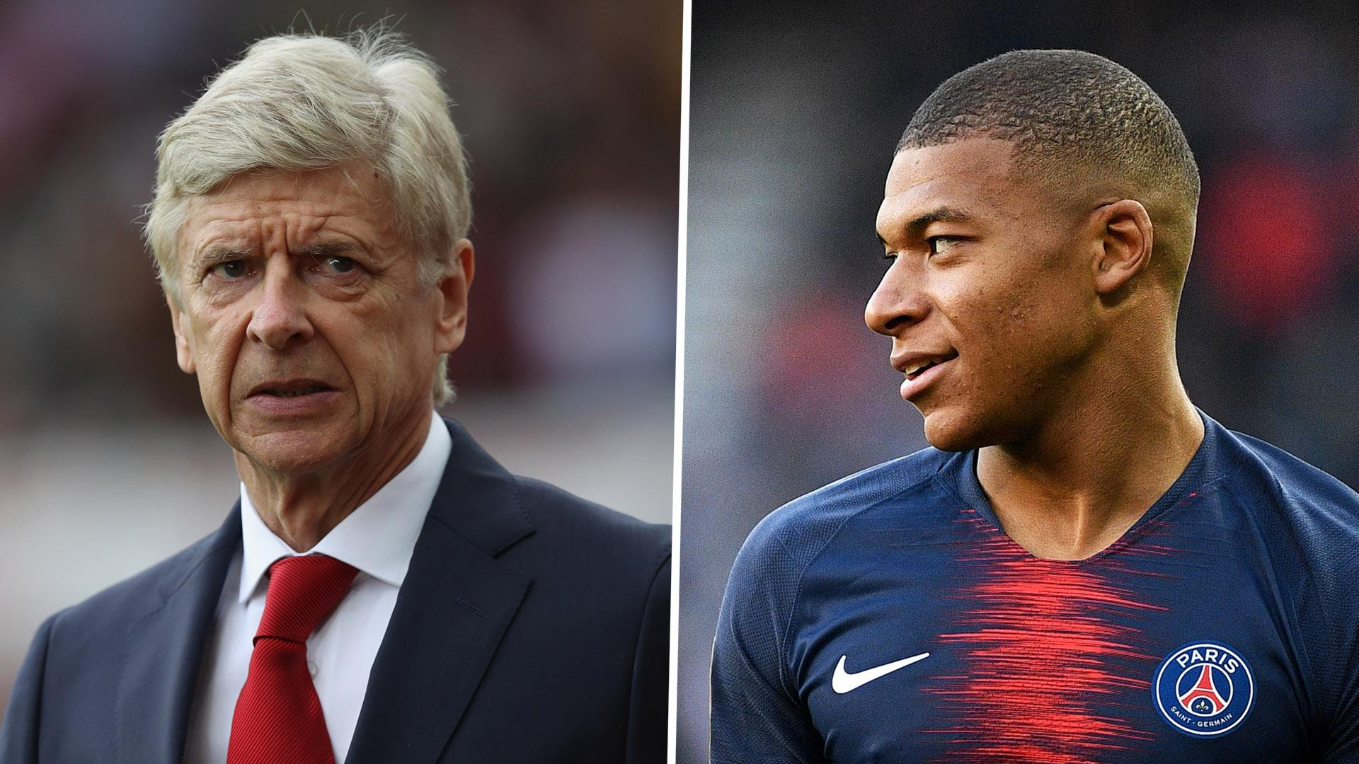 PSG's Mbappe on Wenger's reaction to rejecting Arsenal