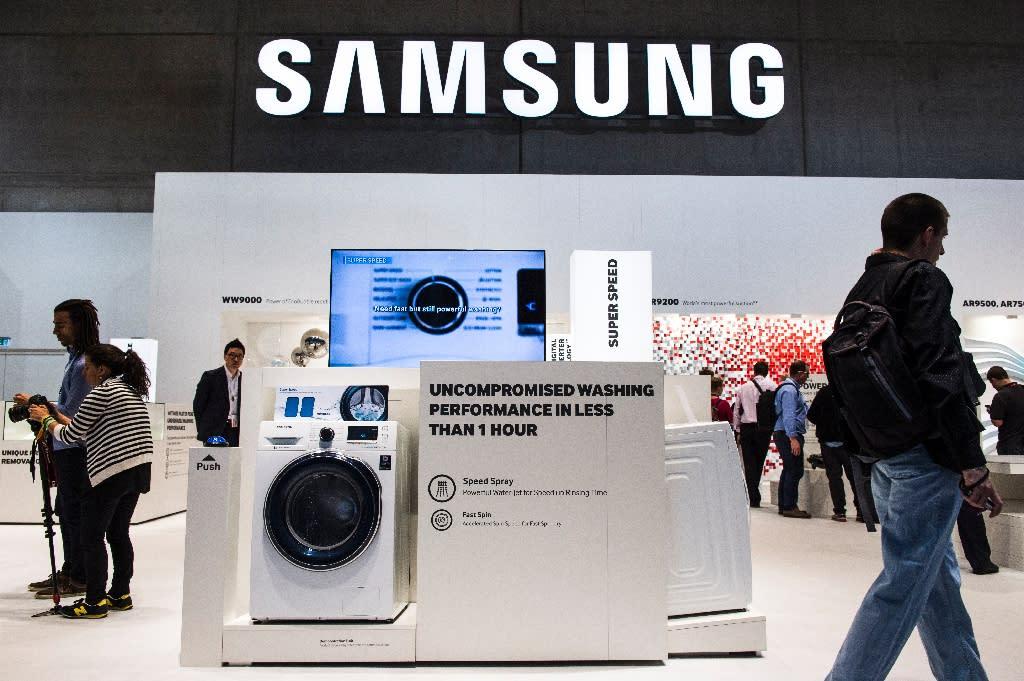 Samsung to recall 2 8 million washing machines in US