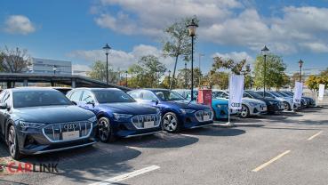 集結充電合作夥伴,Audi e-tron 首批車主聚會圓滿落幕