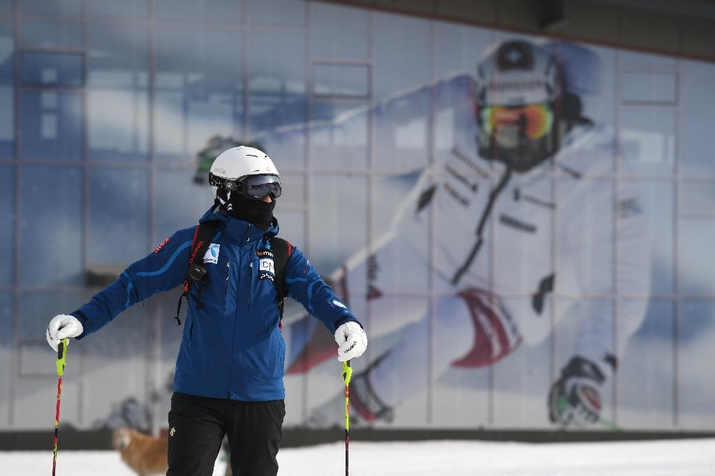 The Genting ski field north of Beijing is one of the venues for the upcoming Winter Olympics in China (AFP Photo/Greg Baker)