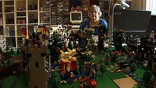 N.C. woman crazy about Legos