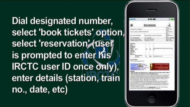 Now book train tickets with simple SMS from July 1st