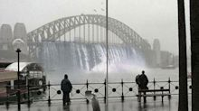 The truth behind 'extreme' viral image of Sydney storm