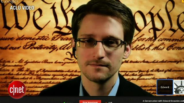 Snowden: Mass surveillance doesn't work, encryption does