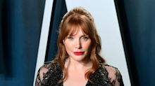 Bryce Dallas Howard shows off bruises from filming Jurassic World: Dominion