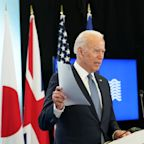 """Biden says U.S. is """"back at the table"""" as G-7 comes to close"""