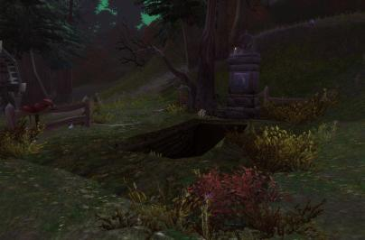 Prince Menethil's steed and the empty grave