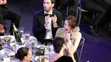 He's Her Favourite! Emma Stone and Boyfriend Dave McCary Make Rare Appearance at SAG Awards
