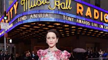 Rachel Brosnahan Attends 2018 Tony Awards Days After Aunt Kate Spade's Death